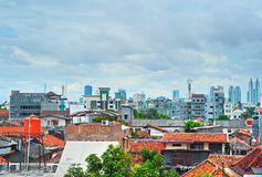 Jakarta skyline, Indonesia Royalty Free Stock Photo