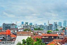 Jakarta skyline, Indonesia Royalty Free Stock Photo