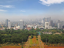 Jakarta Skyline Royalty Free Stock Photo