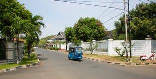 Jakarta street Stock Image