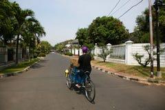 Jakarta street Stock Images