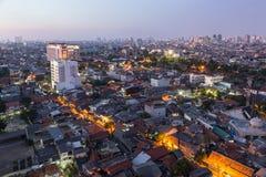Jakarta sunset Stock Images