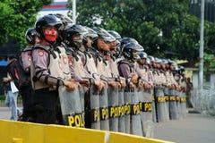 Jakarta 4th of November Demonstration Stock Photo