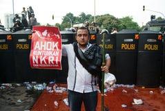 Jakarta 4th of November Demonstration. Jakarta 4th of November 2016 demonstration against Jakarta Governor Basuki Tjahaya Purnama Royalty Free Stock Images