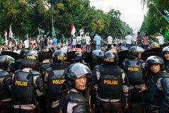 Jakarta 4th of November Demonstration. Jakarta 4th of November 2016 demonstration against Jakarta Governor Basuki Tjahaya Purnama Royalty Free Stock Photo