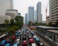 Jakarta traffic Royalty Free Stock Photography