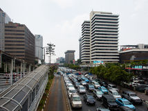 Jakarta traffic Royalty Free Stock Images
