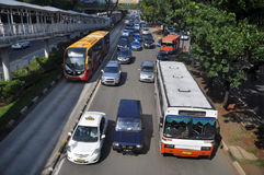 Jakarta Transportation Stock Photos