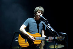 Jake Bugg (English musician, singer, and songwriter) at FIB Festival Stock Images