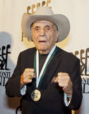 Jake LaMotta Puts Up His Dukes Royalty Free Stock Images