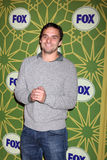 Jake M. Johnson kommt zu der FoxTCA Party - Winter 2012 Lizenzfreie Stockfotografie