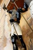 Jakhals onder ogen gezien God, Anubis royalty-vrije stock foto