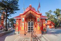 Jakhoo tempel, Shimla Arkivfoton