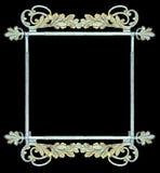 jako botaniczny ramowy metalwork znaka rocznik Fotografia Royalty Free