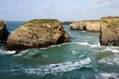jako catedrais praia Spain Zdjęcie Stock