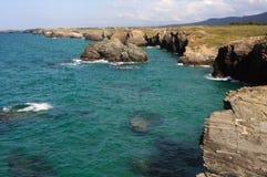 jako catedrais praia Spain Fotografia Stock