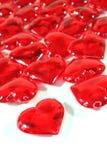 jako czerwoni tło serca Obrazy Royalty Free