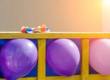jako kolorowi balonów cele Obraz Royalty Free