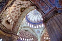 jako niebieski camii sławny Istanbul meczetu najbardziej indyka sultanahmet niebieski meczetu Fotografia Stock