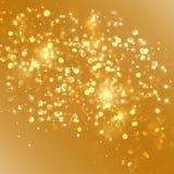 jako tła bożych narodzeń złota ilustracja Zdjęcia Royalty Free