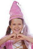 jako ubierająca czarodziejska dziewczyna Obrazy Royalty Free