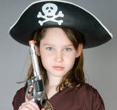 jako ubierający dziewczyny pirata potomstwa Zdjęcie Royalty Free