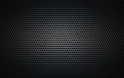 jako widzieć grille oczyszczony metal mówcy Zdjęcie Stock