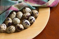 jako wiele tło jajka przepiórka Fotografia Stock