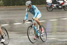 Jakob Fuglsang av Astana pro-laget Arkivfoto