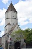 Jakober-massif de roche à Augsbourg photos stock
