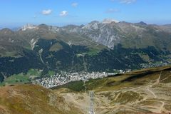 Jakobshorn Davos Stock Photography