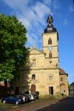 Jakobskirche (St Jacob kościół) w Bamberg, Niemcy Fotografia Stock