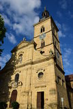 Jakobskirche (St Jacob kościół) w Bamberg, Niemcy Zdjęcia Stock