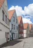 Jakriborg Main Street Royalty Free Stock Image