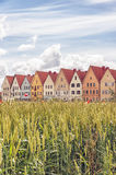 Jakriborg in Sweden. Jakriborg is a new classical housing project built in the municipality of Staffanstorp in the Skane region of southern Sweden Stock Images