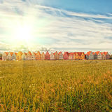 Jakriborg, Sweden. Jakriborg is a new classical housing project built in the municipality of Staffanstorp in the Skane region of southern Sweden. An instagram Stock Images