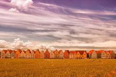Jakriborg, Sweden 36. Jakriborg is a new classical housing project built in the municipality of Staffanstorp in the Skane region of southern Sweden royalty free stock images