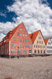 Jakriborg, Sweden 67. Jakriborg is a new classical housing project built in the municipality of Staffanstorp in the Skane region of southern Sweden stock image