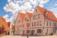 Jakriborg, Sweden 55. Jakriborg is a new classical housing project built in the municipality of Staffanstorp in the Skane region of southern Sweden stock image