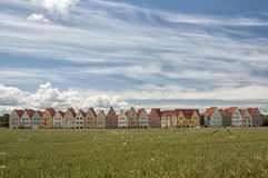 Jakriborg From Wheat Field Royalty Free Stock Image