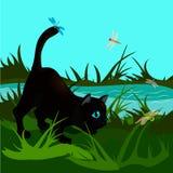 jakt vektor illustrationer