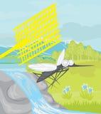 Jakt för myggor stock illustrationer