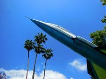 Jaktflygplan F-104 Royaltyfria Foton