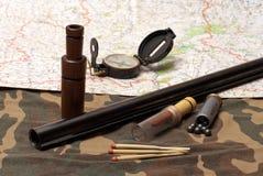 Jaktfortfarande-livstid. Arkivbild