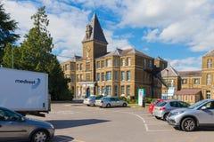 Jaktlantgårdsjukhus i Enfield london royaltyfri bild