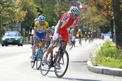 Jakub Foltyn - Bohemia tour 2012 race Royalty Free Stock Photo