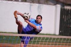 Jakub Mrakava - footballtennis Stock Images