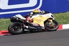 Jakub Smrz - Ducati 1098R - de Vrijheid van Effenbert van het Team Stock Foto's