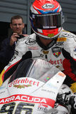 Jakub Smrz - Ducati 1098R - Team Effenbert Liberty royalty free stock photos