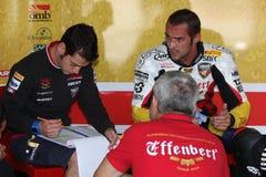 Jakub Smrz - Ducati 1098R - Team la libertà di Effenbert Immagine Stock